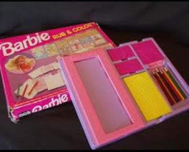 Barbie Fashion Plates. LOVED these )