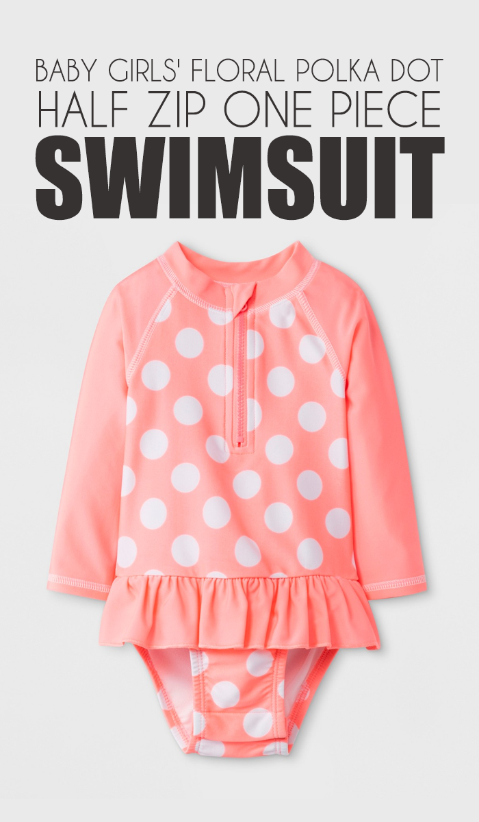 Keep your little swimmer covered and cute for a day of