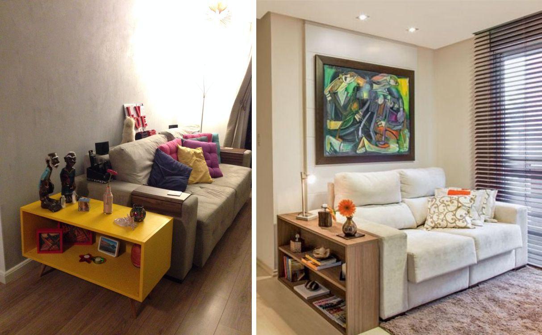10 Inspira Es De Mesa Lateral Para A Sua Sala Mesa Lateral Sala  -> Abajour Para Sala De Tv
