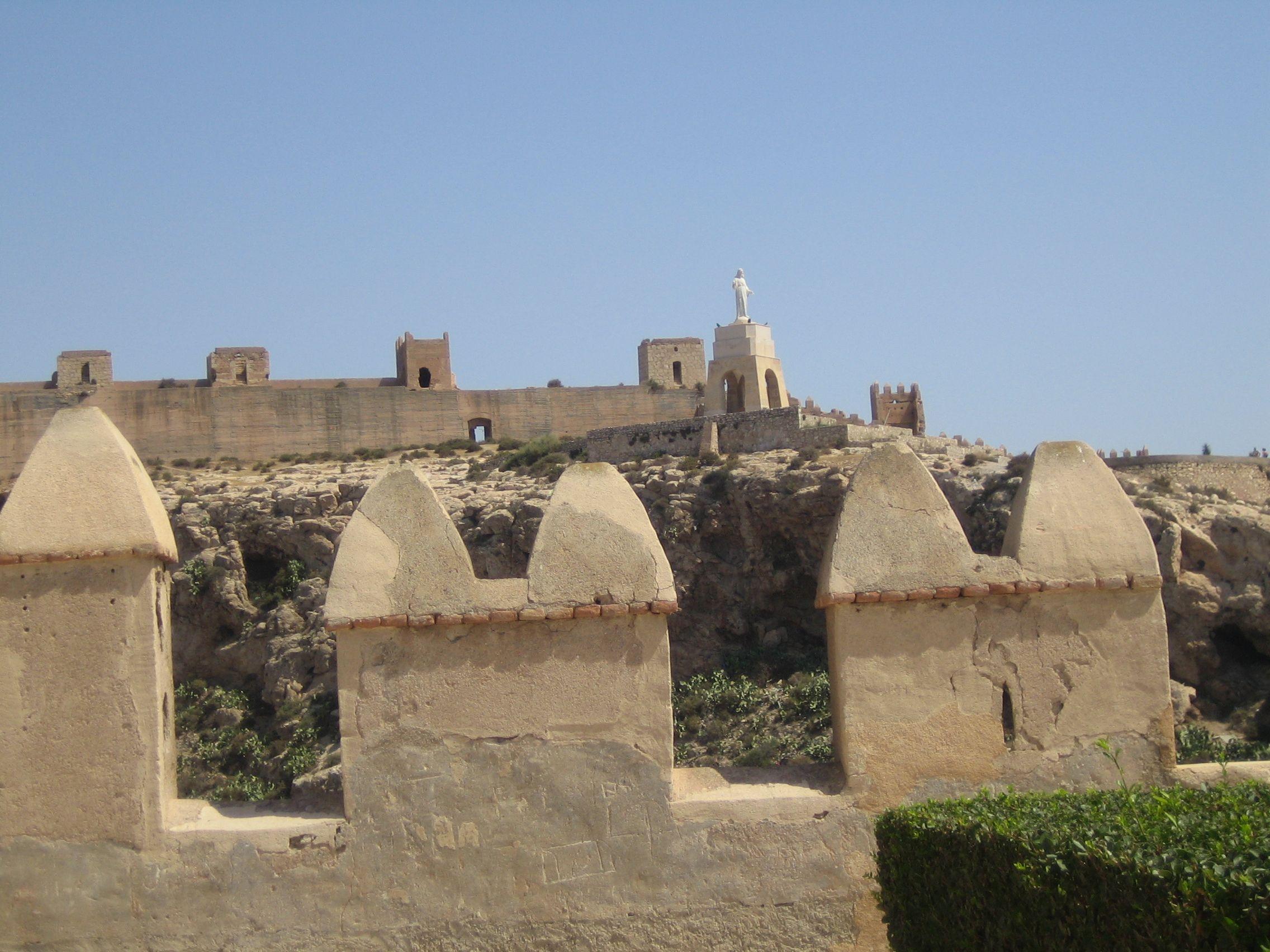 Alcazaba y Murallas del Cerro de San Cristobal (Almeria)