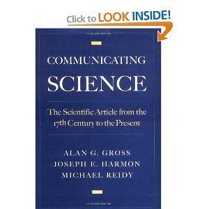 communicating science reidy michael s gross alan g harmon joseph e