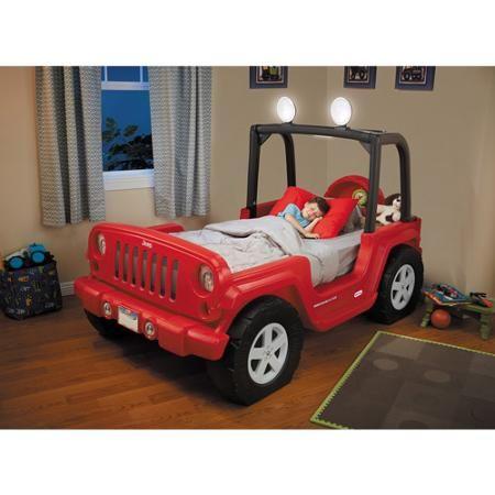 Baby Jeep Bed Kids Bedroom Boys Kid Beds