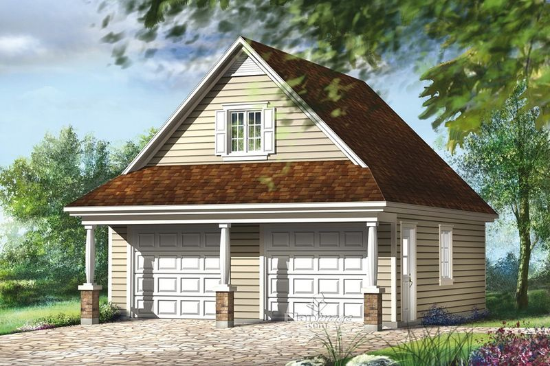 Traditional Style House Plan 0 Beds 0 Baths 559 Sq Ft Plan 25 4872 Garage Plans With Loft Garage Plans House Plans