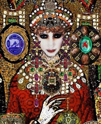 Sleeping Beauty by Camilla Morton, illustrated by Christian Lacroix