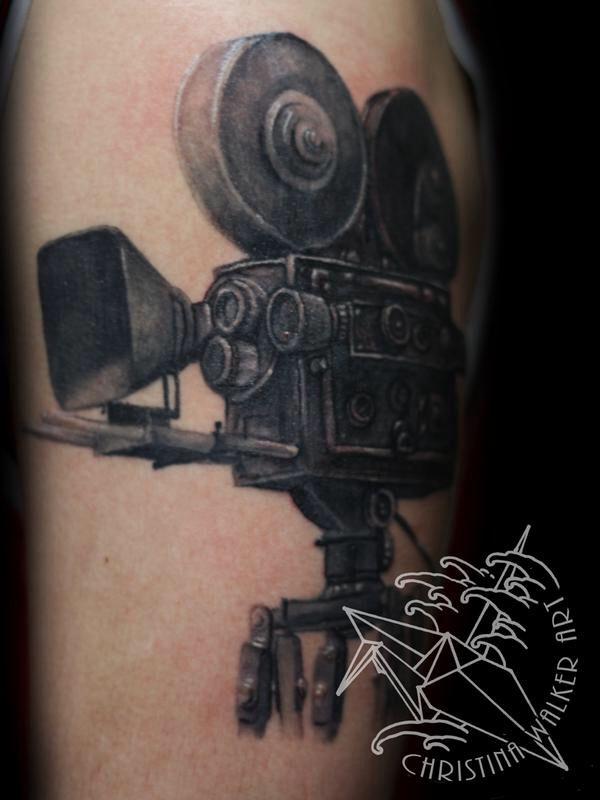 Film Camera Tattoo Tatuering