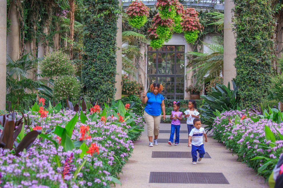 Longwood Gardens Garden, Botanical gardens, Longwood gardens