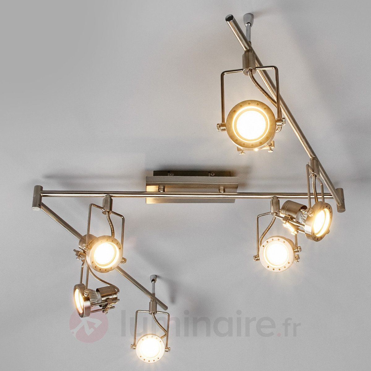 Plafonnier 6 Spots Led Plafonnier Spot Led Agidio à 6 Lampes Bathroom Lights