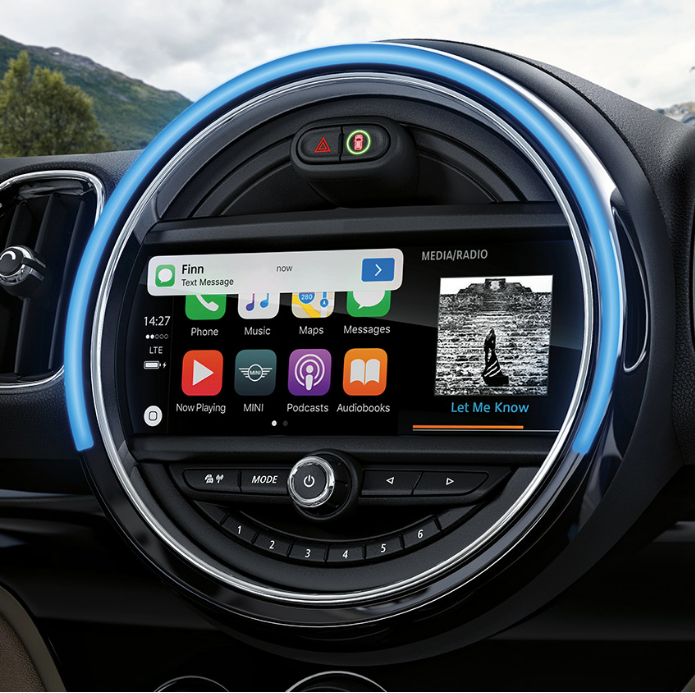 MINI Countryman Digital Display Australia. (With Images