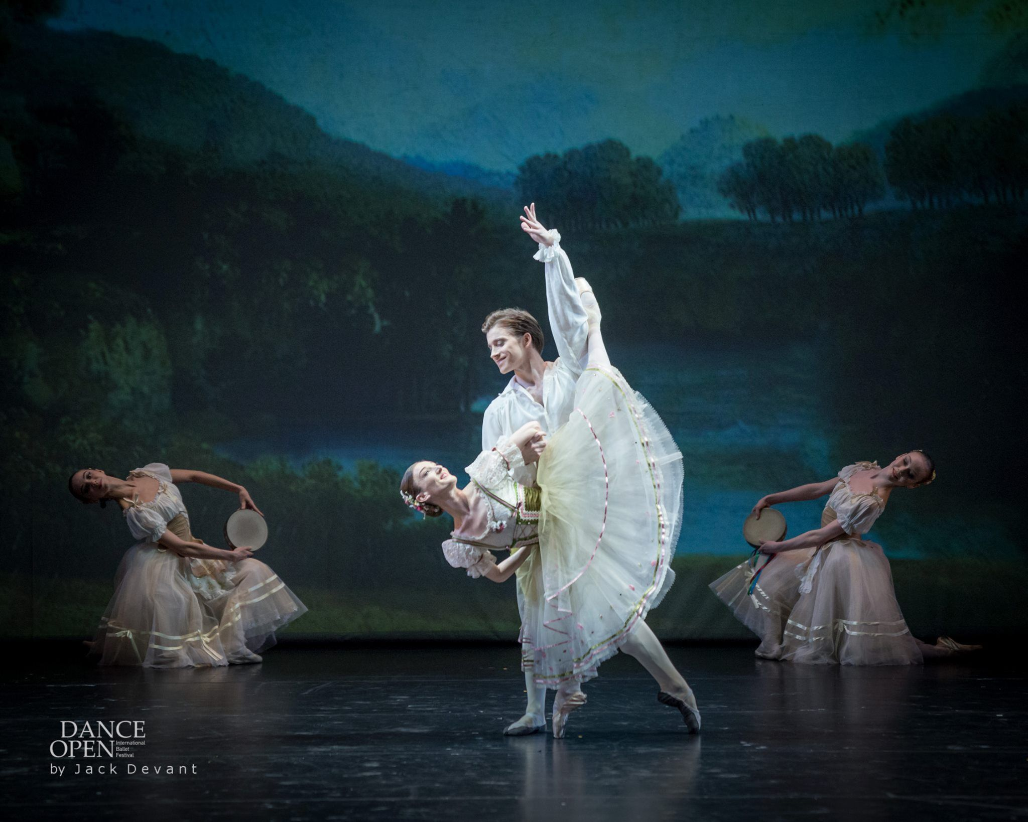 Jaime Crandall and Alban Lendorf in The Flower Festival in Genzano pdd - Photo by Jack Devant