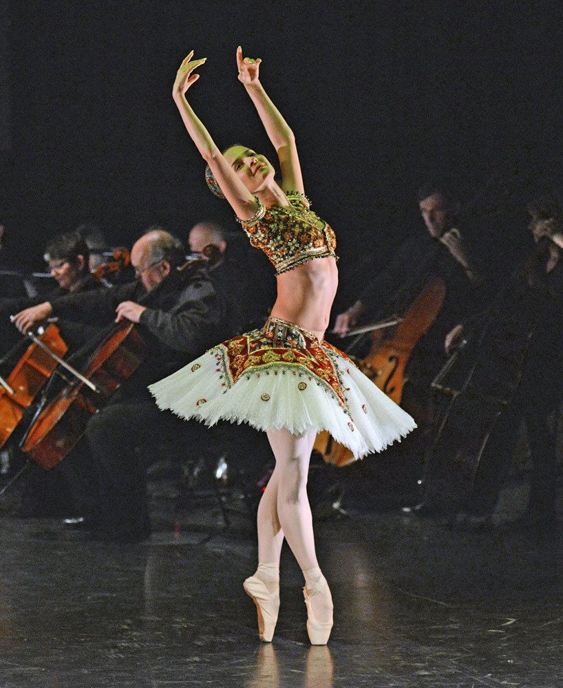Katja Khaniukova in Le Corsaire, English National Ballet