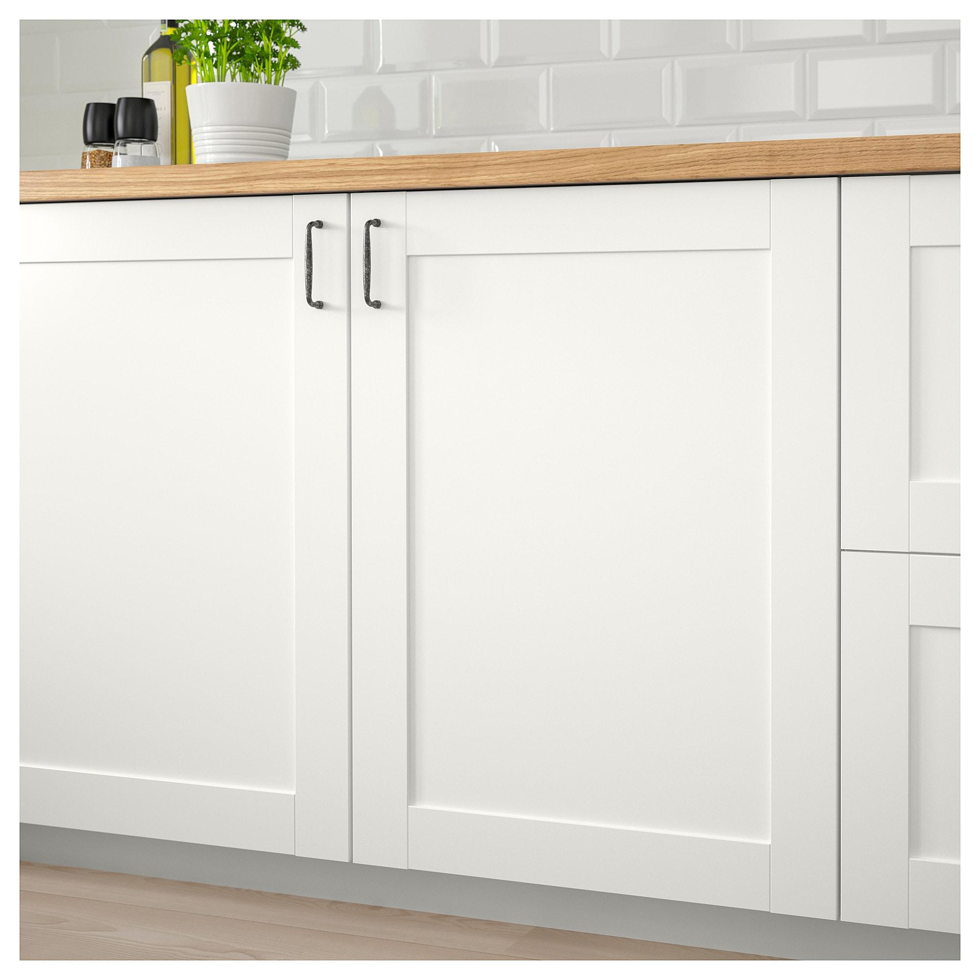 Dom I Meble Ikea Wandschrank Mit Tur Weiss 60x31x60 Cm