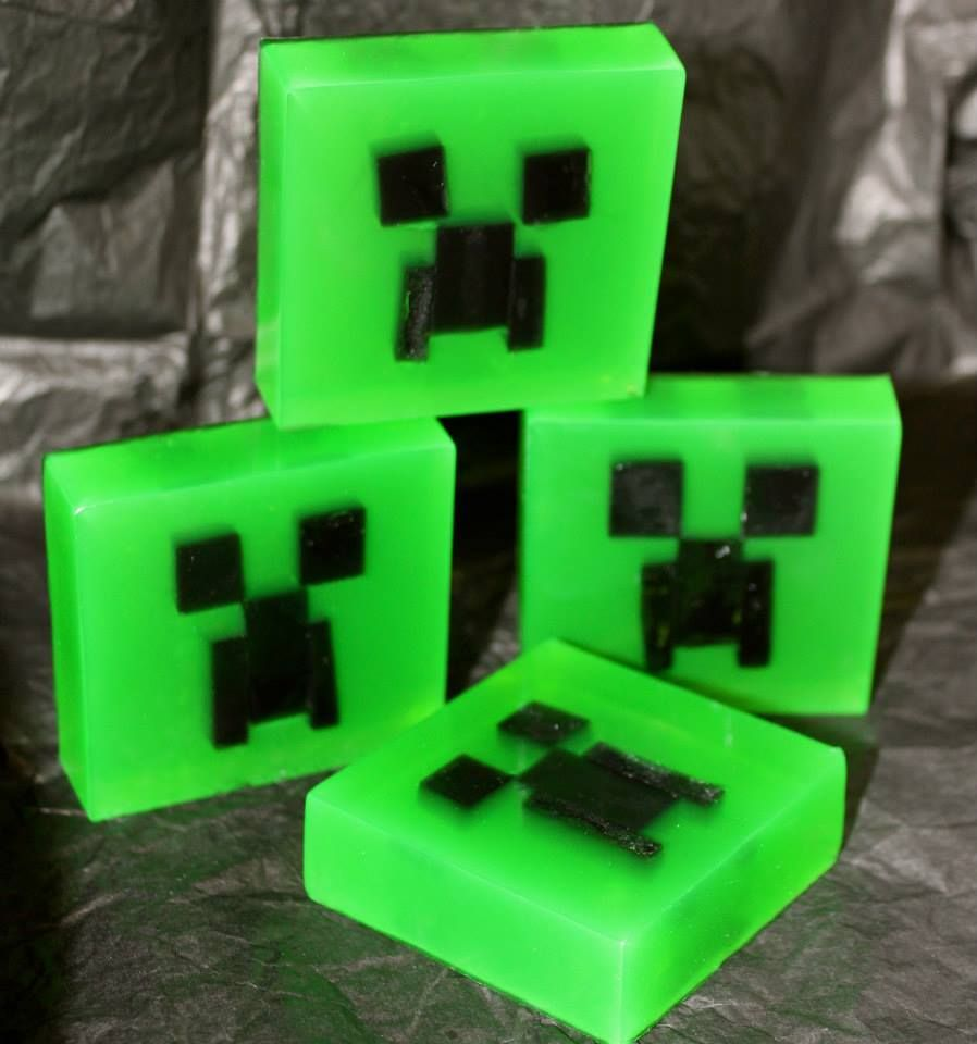 Minecraft Soap Soap Making Home Made Soap Soap Making