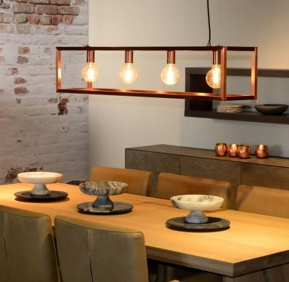 Choosing The Perfect Pendant Lighting For Your Kitchen Garden Room Or Orangery Copper Dining Room Dining Table Pendant Light Dining Table Lighting