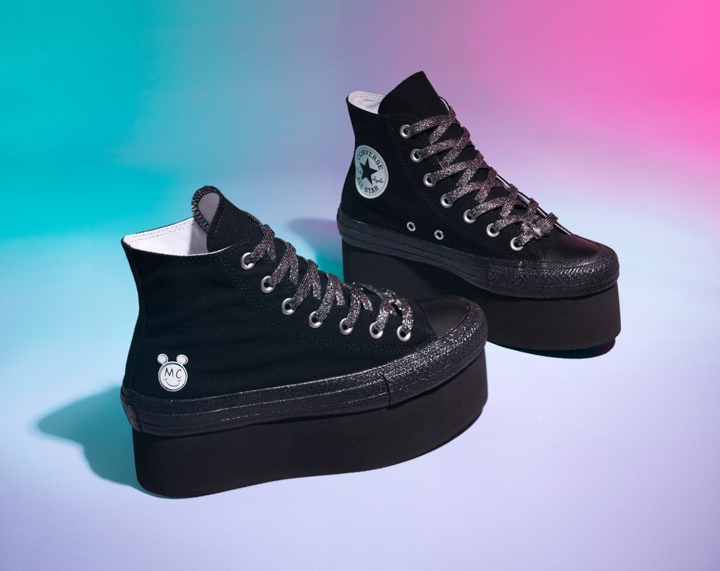 Miley Cyrus's Converse Sneakers Are