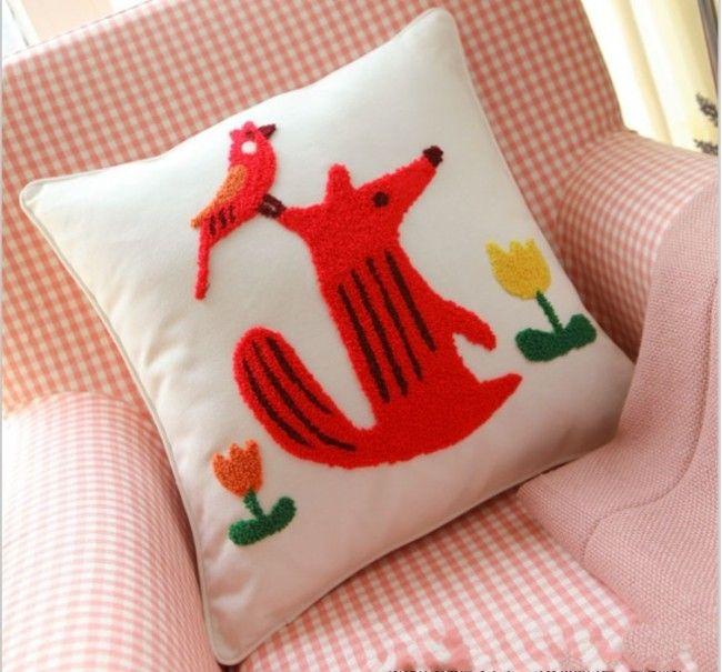 Embroidery Christmas Pillow