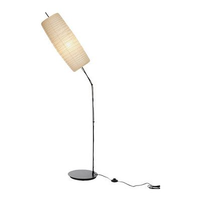 Ikea sore floor lamp rice paper shade new with reaching arm dorm ikea sore floor lamp rice paper shade new with reaching arm ebay aloadofball Gallery