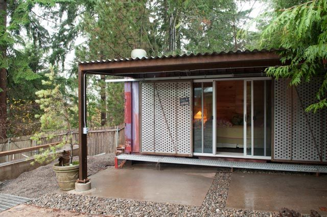 Metal Roof Extension Sliding Metal Doors To Cover Patio