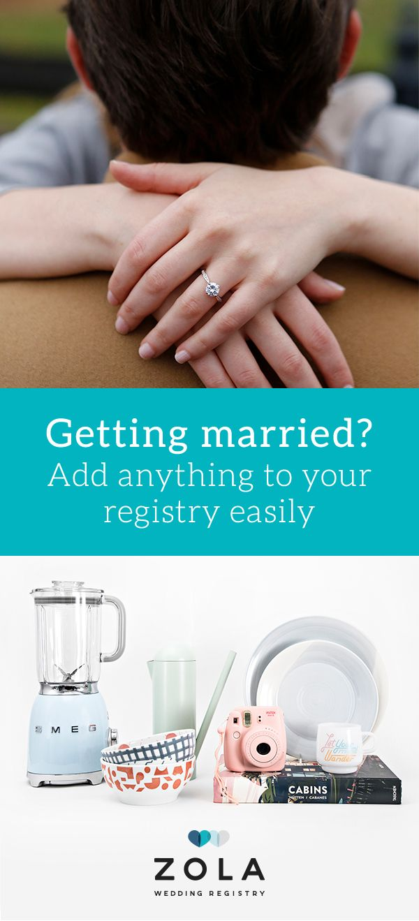 Sign Up For The All In One Wedding Registry That Ll Do Anything