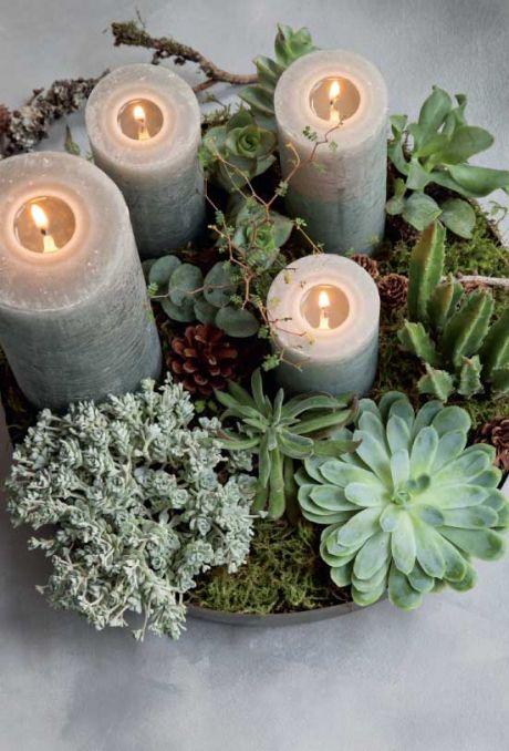 Grøn og moderne | DIY Decor | Pinterest | Weihnachten ...
