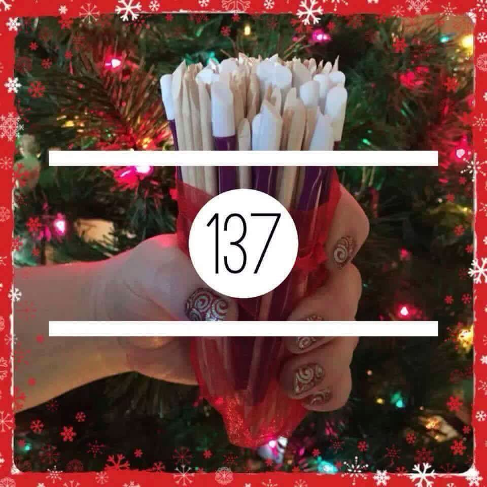 Christmas Guess How Many Answer  Jamberry    Jamberry