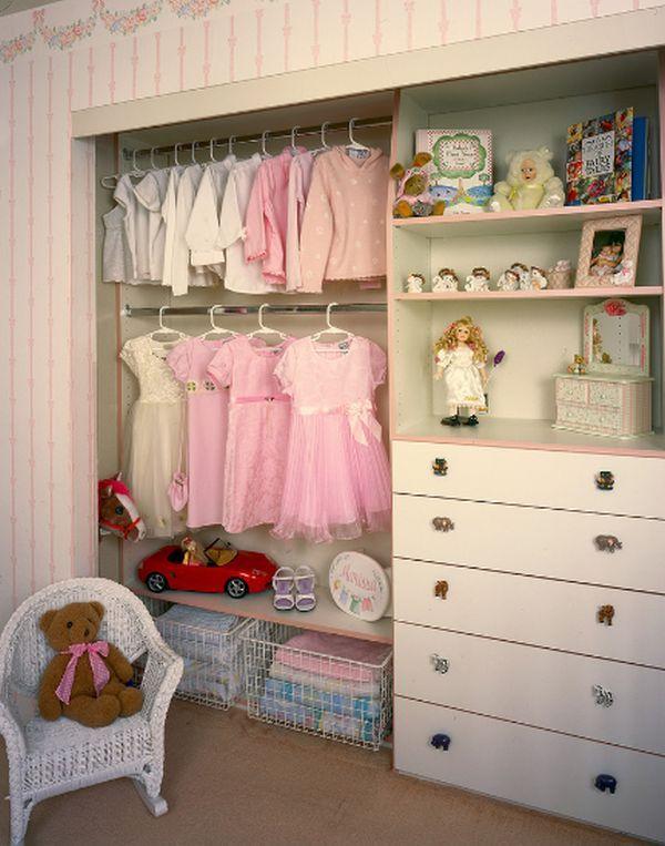 A Girl S Walk In Closet Design Ideas Kids Closet Organization