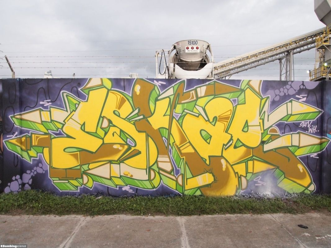 Art Basel 2015 Part.1 | Graffiti creator, Graffiti styles and Graffiti