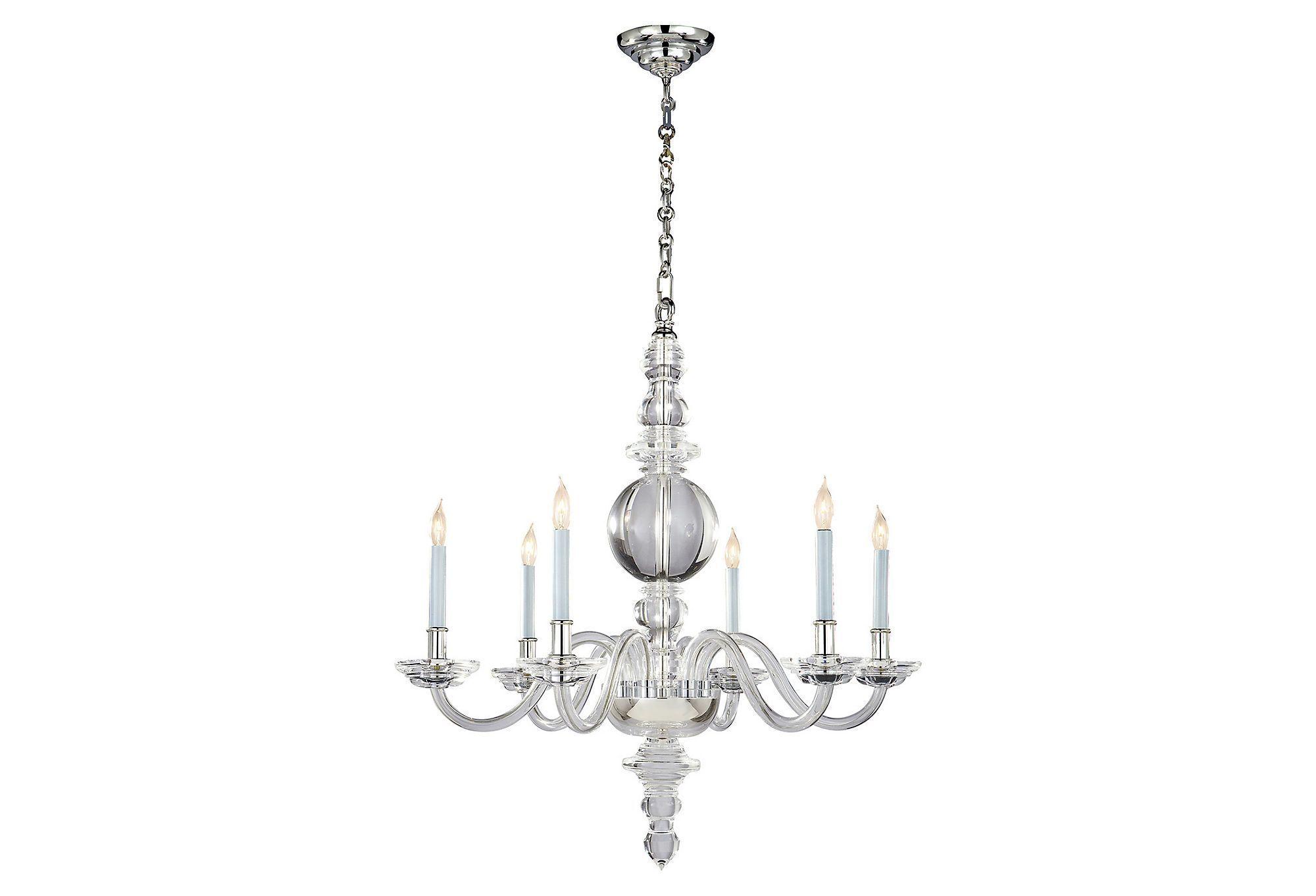 George ii chandelier crystal one kings lane illuminazione george ii chandelier crystal one kings lane arubaitofo Images