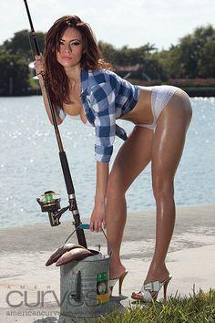 Hot fishing women super