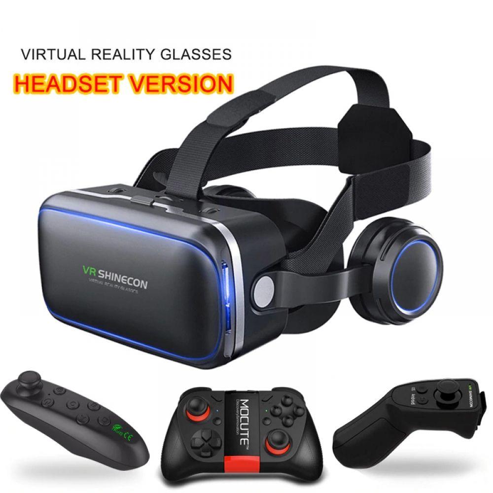 Original VR6 0 headset version virtual reality glasses 3D helmets