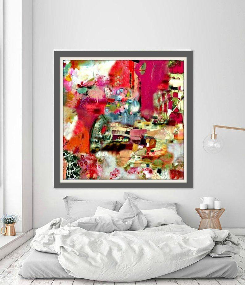 Abstract Print Modern Art Art Home Decor Statement Wall Art Living Room Wall Art Colourful Wall Art Be Wall Art Living Room Bedroom Art Colorful Wall Art