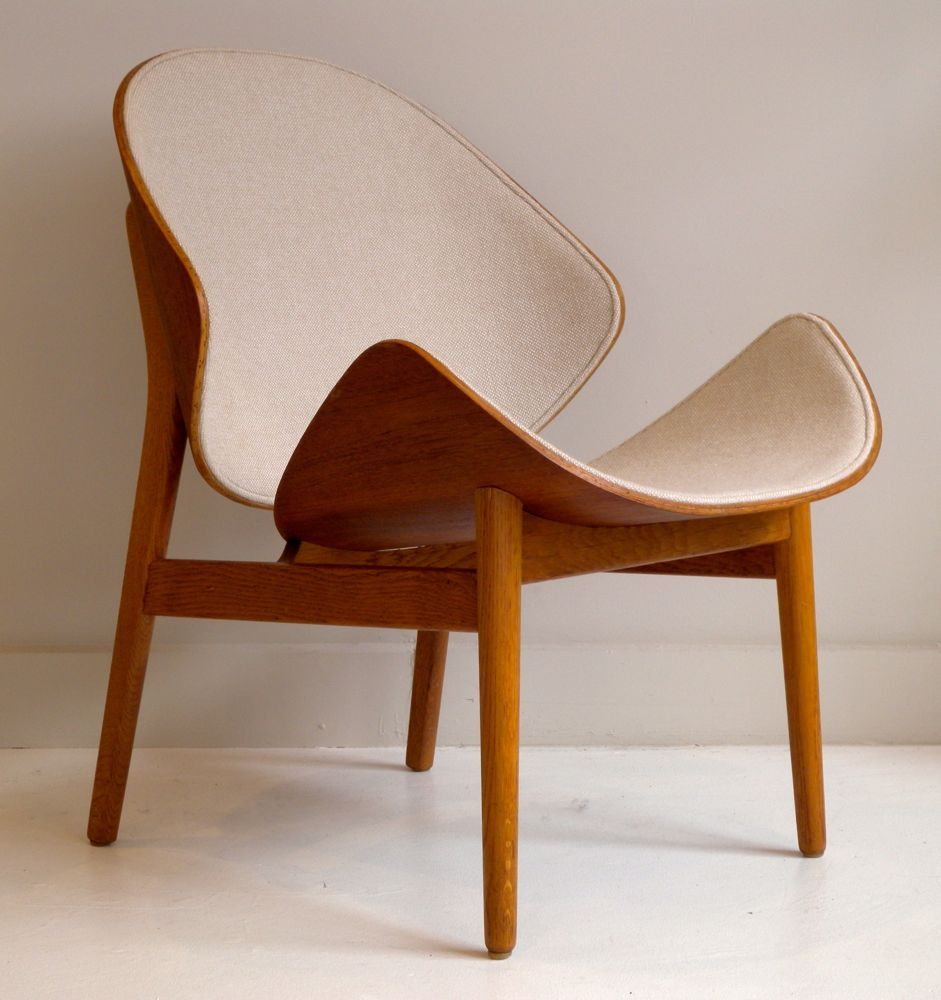 Perfect Hans Olsen Teak And Oak Easy Chair.