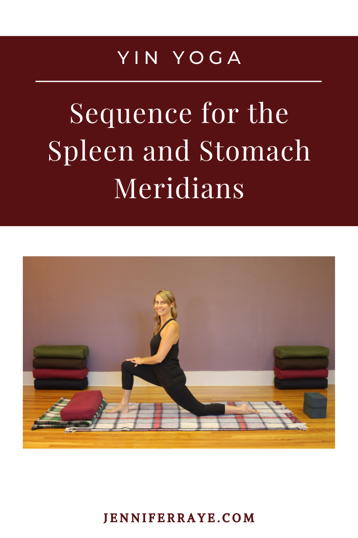 Yin Yoga Sequence For The Spleen And Stomach Meridians Jennifer Raye Medicine And Movement In 2020 Yin Yoga Sequence Yin Yoga Yoga Sequences