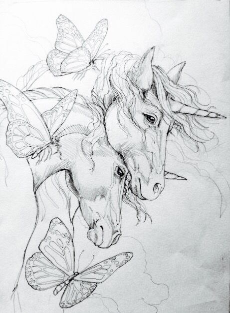Printable Unicorn Coloring Pages For Adults : Http: www.amazon.com fairy companions coloring book romance dp