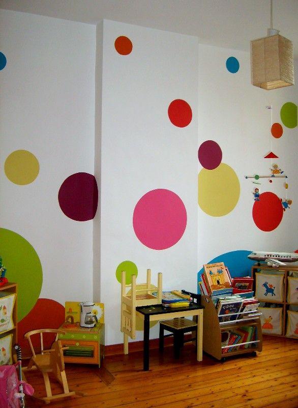 Idee Decoration Peinture Salle De Jeux Wall Decals Wall