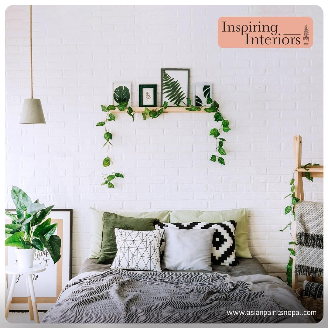 Decorating with greenery is a great way to add color and interest to your space. -      Decorating with greenery is a great way to add color and interest to your space. You can incorporate it in wall hangings or through planters to give your space a touch of nature.  #InspiringInteriors #Green #Greenery #HomeDecorStyles #LivingSpaces #HomeDecor #StylishInteriors #Stylish #Spaces #GreenSpaces #Minimalist #ChicInteriors #Teendy #NatureInspired #SideTable #DecorSpaces #Inspiration #Decor #DesignsF