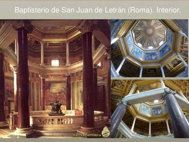 Resultado De Imagen Para Interior Y Exterior Del Baptisterio De San