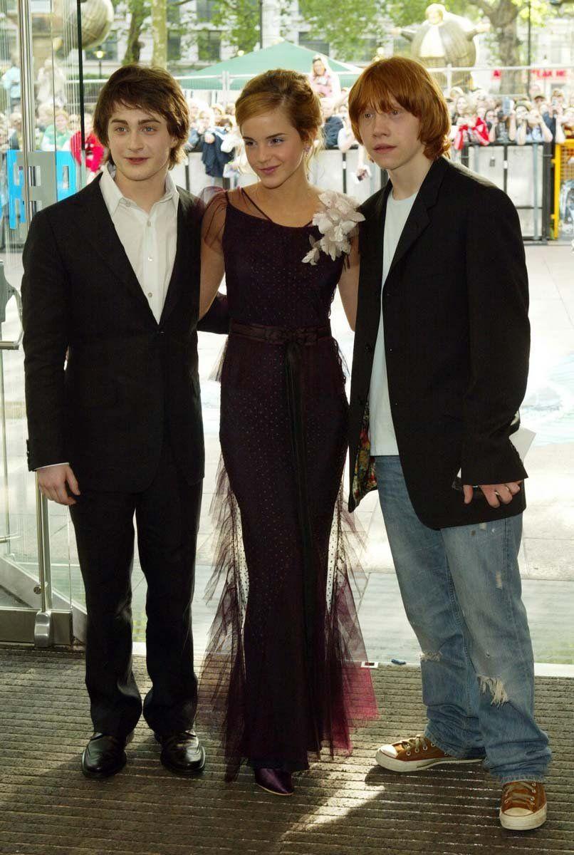 Daniel Radcliffe, Rupert Grint and Emma Watson