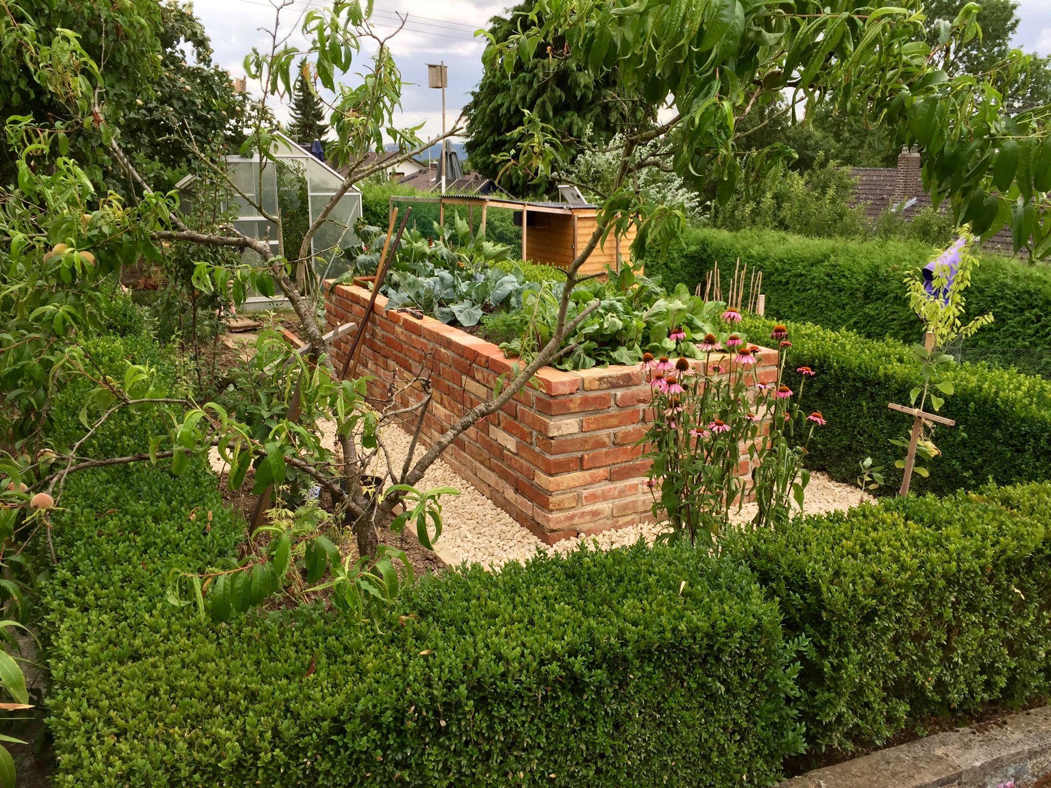 Gemeinsame Hochbeet selbst gemauert | Garten | Hochbeet und Garten #AM_24