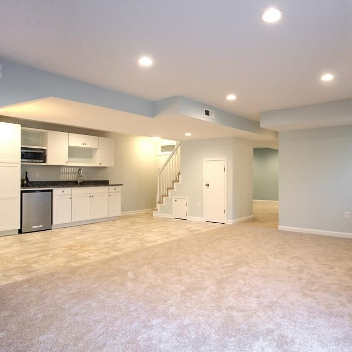 Basement Renovation In Richmond Va Design By Prosource