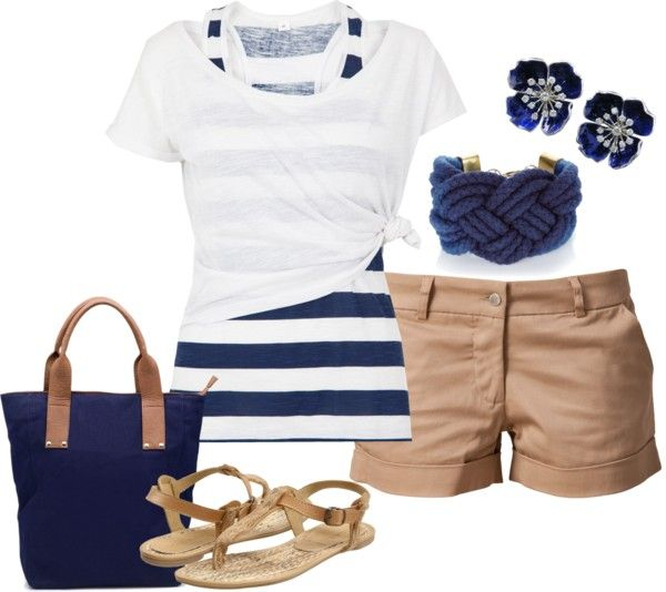 """Nautical"" by annevt ❤ liked on Polyvore"
