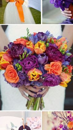 wedding colour coral plum grey - Google Search | My now, my future ...