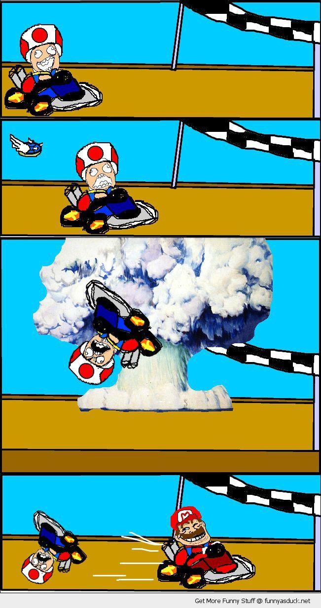 Blue Shell Rage Mario Kart Mario Memes Funny Games