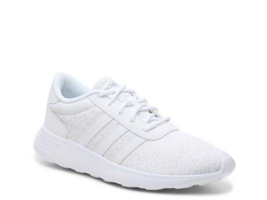 Women S Adidas Neo Lite Racer Leopard Sneaker White