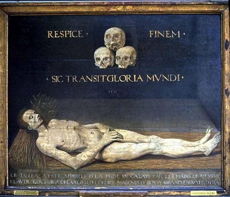 kankalamalini: Sic Transit Gloria Mundi. Memento Mori. 1551, France ...