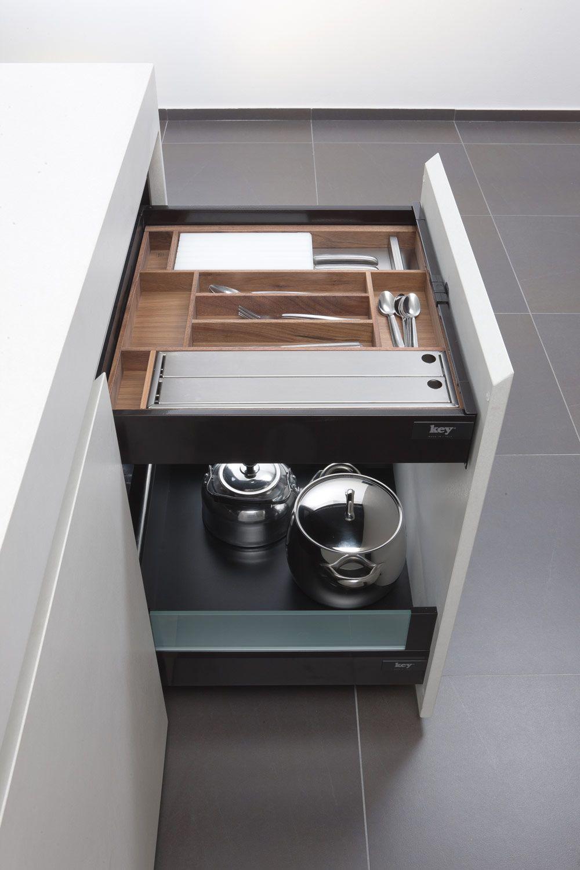 Cucina Inside > un progetto di Key Sbabo Cucine | drawers ...