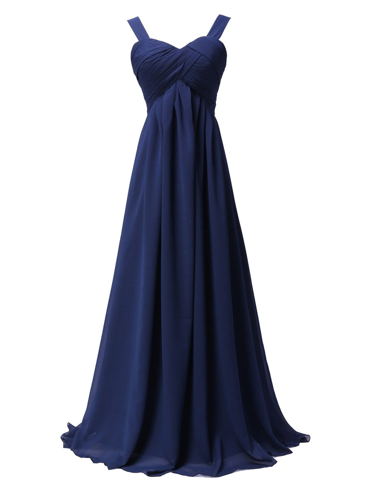 Empire Waist Chiffon Ball Prom Dresses Lace Up Back (Multi-Colored ...