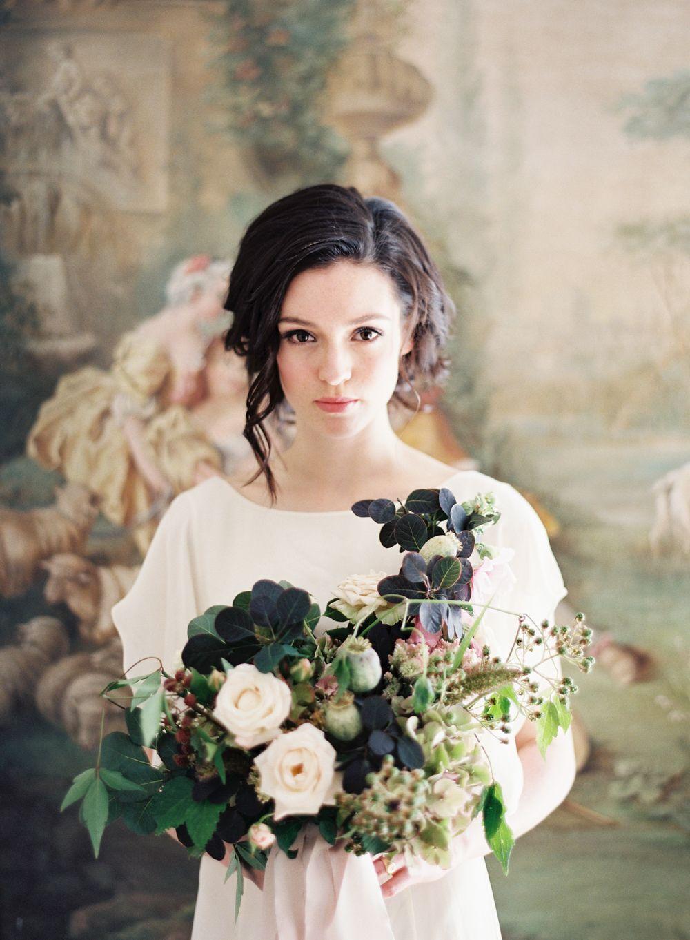 Louise French Châtea Bridals in Paris | Pinterest | Florals, Gowns ...