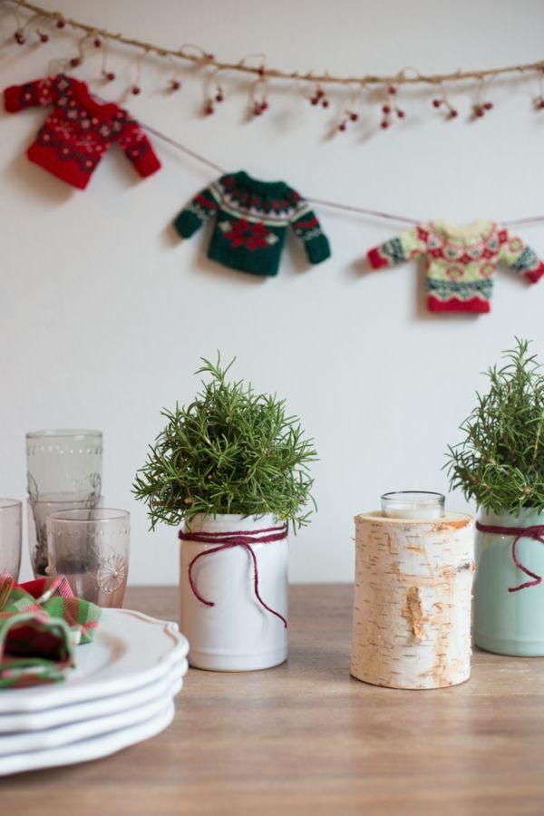 Wunderbar Weihnachtsdeko Basteln Kleine Accessoires Selber Machen