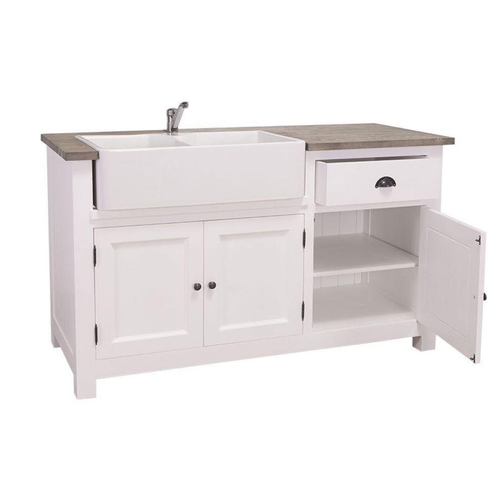 küchenmodul mit waschbecken, schublade, küchenschrank ... - Küchenschrank Mit Schubladen