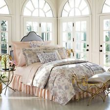 Sferra PRINA Pearl Euro Continental Sham SET/2 Floral Cotton Sateen Jacquard New